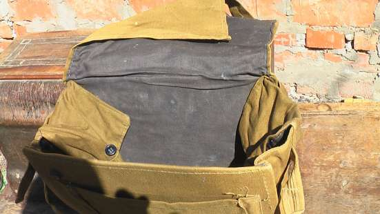 Сумка военная санитарная брезентовая