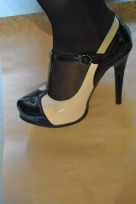 Кожаные туфли 38