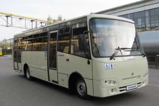 Автобусы Isuzu-Атаман А-092Н6 с пандусом.