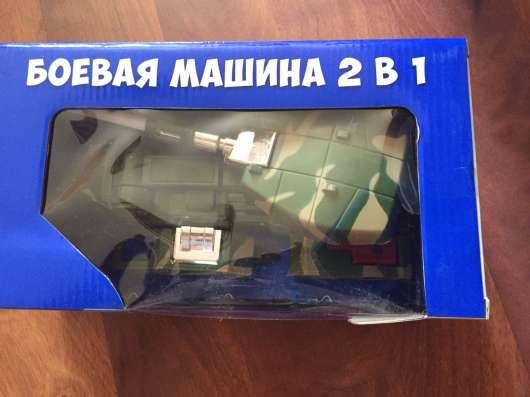 Новая Боевая машина танк 2 в 1
