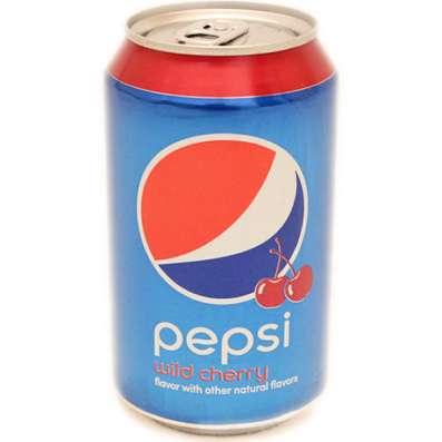 Pepsi Wild Cherry(Пепси Вайлд Черри,США)в жестяной банке,США