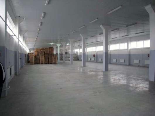 Ремонт производственных и складских помещений.