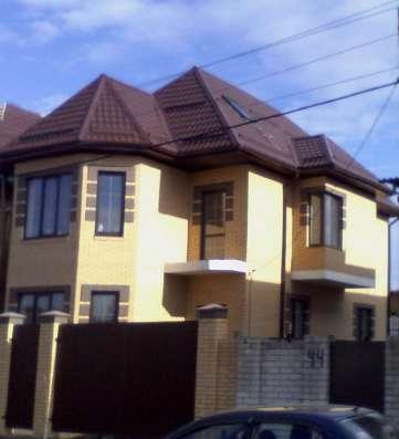 Новый дом в коттеджном поселке в районе