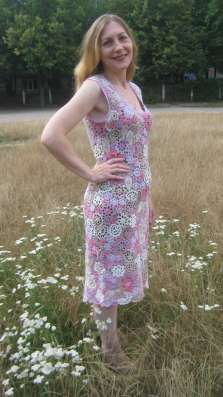 Ирландское кружево - платье