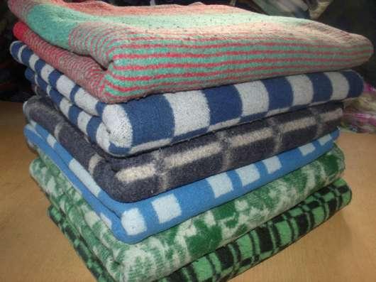 Продам оптом полушерстяные и байковые одеяла