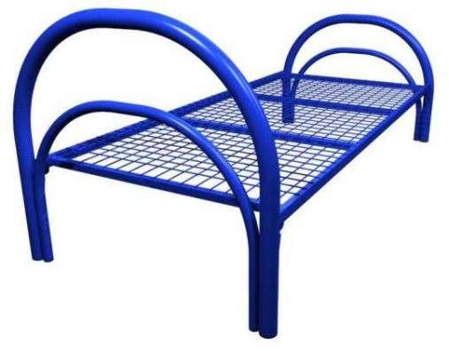 Металлические кровати с ДСП спинками для больниц опт в Сочи Фото 4