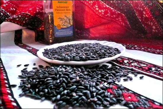 Тибетский черный рис