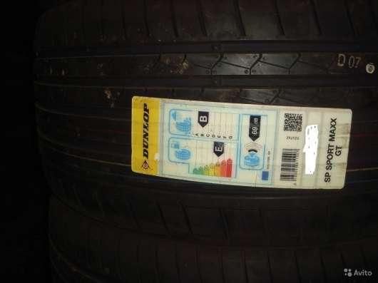 Новые 255/35ZR20 Sport Maxx GT шины дунлоп