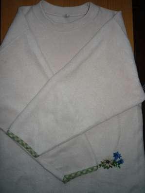 Толстовка флисовая с вышивкой