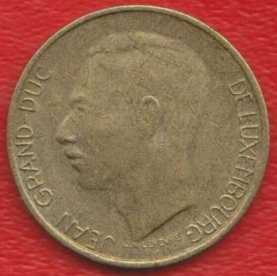 Люксембург 5 франк 1986 г