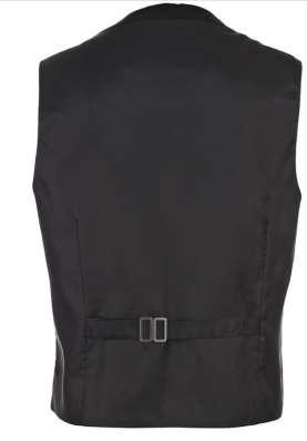 Мужсая жилетка черного цвета