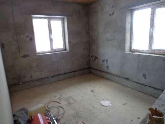 Дом под чистовую отделку, 160 кв. м - пеноблок