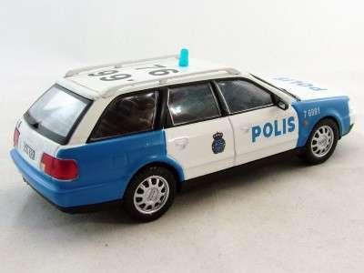 полицейские машины мира №38 AUDI A6 AVANT полиция швеции