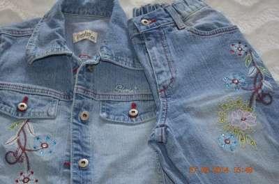 джинсы для девочки 122 и 134 в Челябинске Фото 2