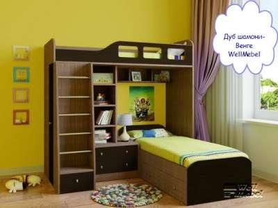 Детская двухъярусная кровать РВ мебель Астра 4 в Москве Фото 3