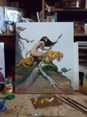 картина от РиКо   Охота !