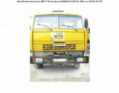 автобетоносмеситель КАМАЗ 53229-15