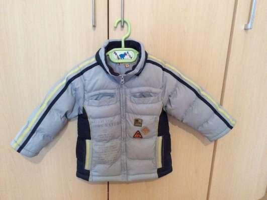 Куртка на синтепоне на 4 года