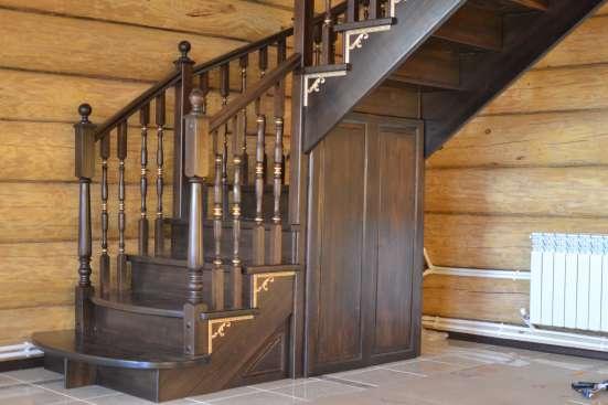 Евроокна из клееного бруса, лестницы из массива
