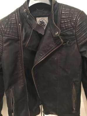 Кожзам куртка мужская размер М в Москве Фото 2