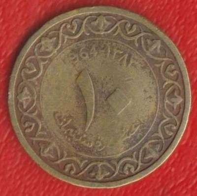Алжир 10 сантимов 1964 г
