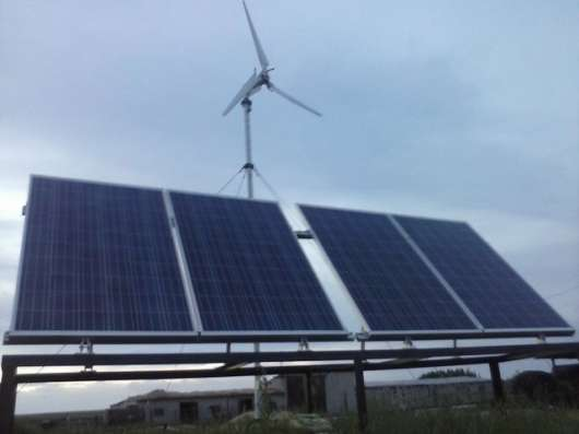 Ветрогенераторы от 600 Ватт до 25 кВт