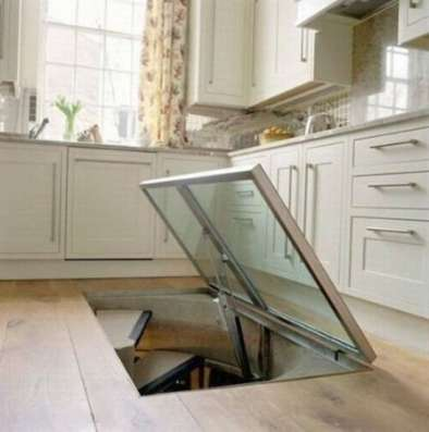 Мини погреб на кухне