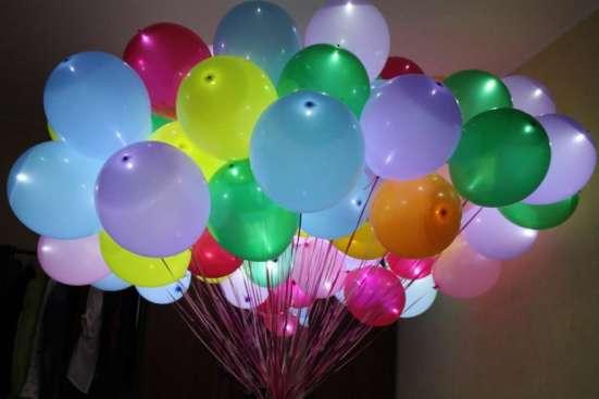 Светящиеся шары RGB для праздников