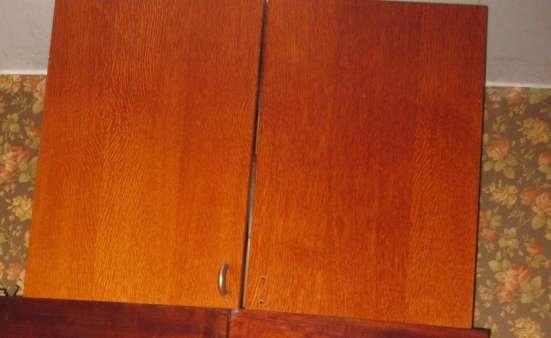 Шкаф деревянный двустворчатый с антресолью