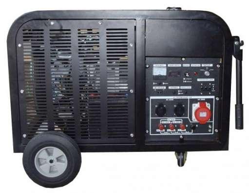 Бензиновый генератор 10 кВт трехфазный