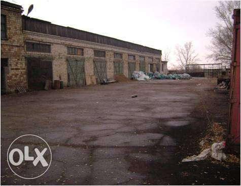 производственная база с земельным участком вдоль Республикан