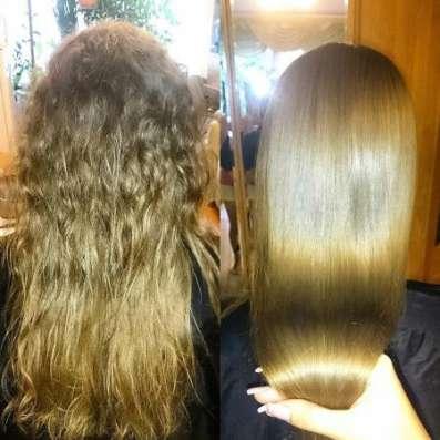 Кератиновое выпрямление и полировка волос в Щелково Фото 3