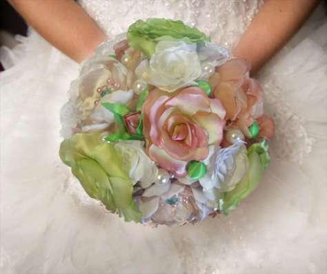 Свадебный букет, букет невесты в Москве Фото 1