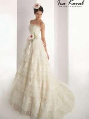 недорого дизайнерское свадебное платье
