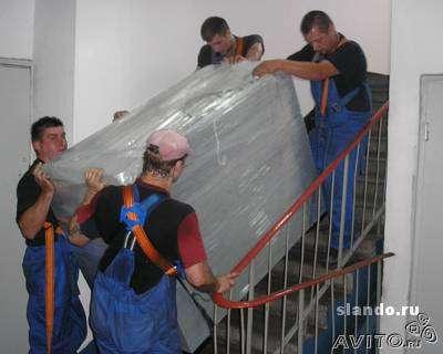 Грузоперевозки переезды квартирный офисный грузчики перевозка грузов мебели такелаж в Москве Фото 2