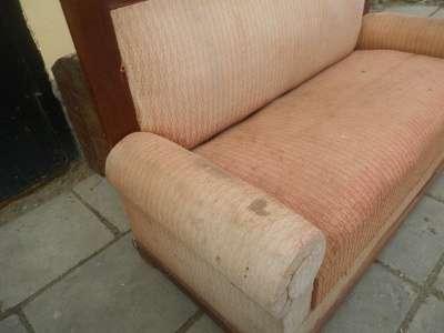 Старинный диван с валиками. в Москве Фото 1