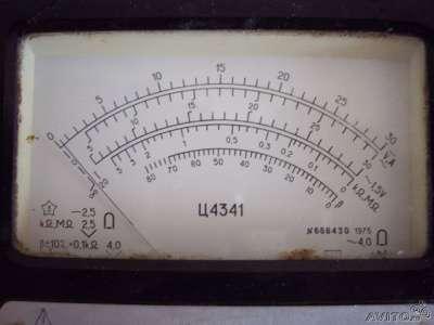 Тестер Ц4341.
