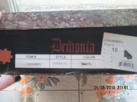 Туфли Demonia готические, оригинал + коробка