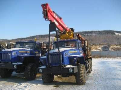 Лесовозный тягач Урал 2016 г.в. без пробега,  с кму Атлант С-100 Лизинг