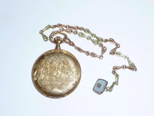 Карманные часы Louis Audemars. 1850 год. Золотой корпус в г. Самара Фото 3