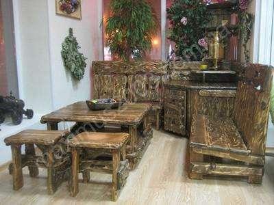Мебель из массива сосны состаренная в Екатеринбурге Фото 2
