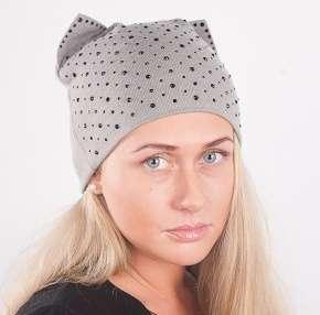 Женская трикотажная шапка мод. 441