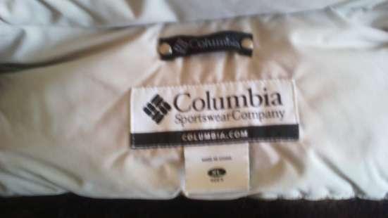 Пуховик мужской Columbia одевали пару раз. состояние идеальн