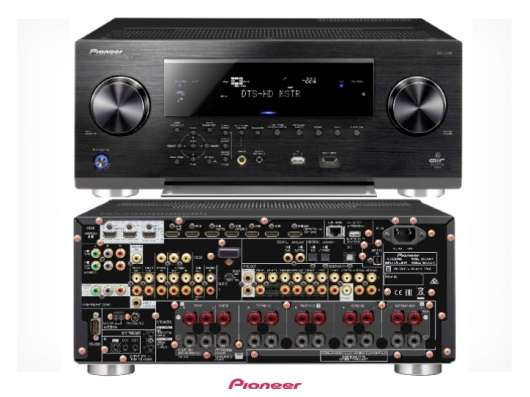 Ресивер Pioneer SC-LX88 + Pioneer BDP-450