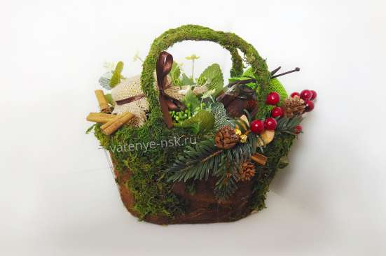 Подарок в дизайнерской корзине с необычным вареньем в Новосибирске Фото 4