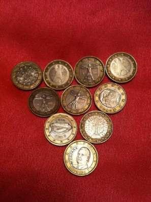 Финляндия 1 евро - 8 монет в Москве Фото 1