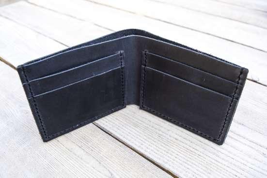 Кожаный кошелек в г. Северодонецк Фото 3