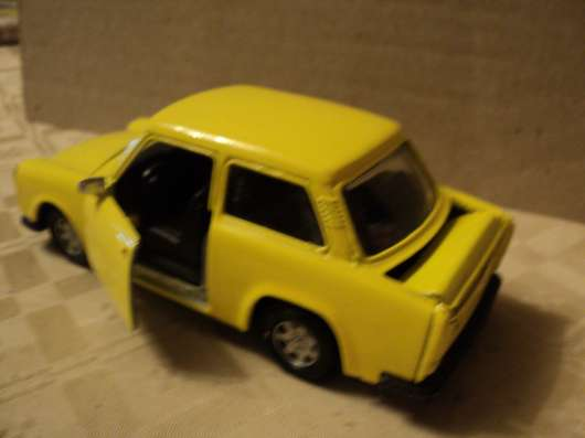 Масштабная модель автомобиля Трабант в Москве Фото 1
