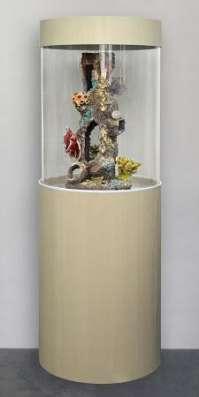 Цилиндрический аквариум (собственное производство) 150л в Миассе Фото 3