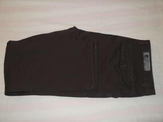 Продам джинсы утепленные коричневые р-р 52, новые в Новосибирске Фото 4